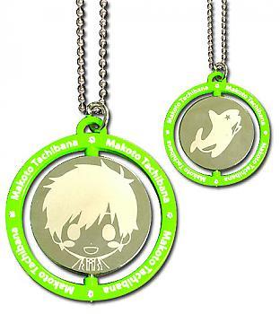 Free! Necklace - Makoto Green Metal