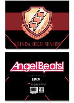 Angel Beats! Elastic Band File Folder - SSS