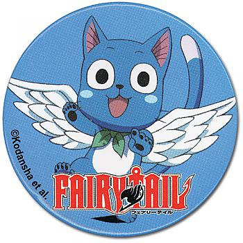 Fairy Tail Button - Happy