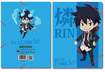 Blue Exorcist Elastic Band File Folder - Rin