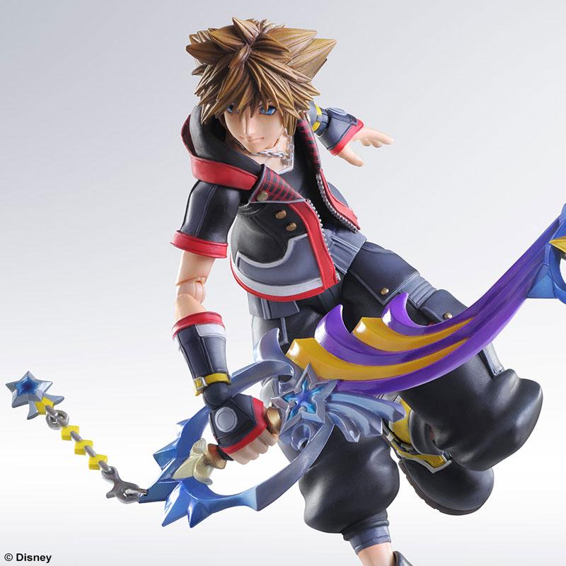 Kingdom Hearts 3 Play Arts Kai Action Figure - Sora @Archonia_US