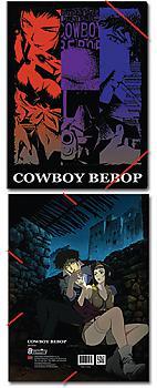 Cowboy Bebop Elastic Band File Folder - Group