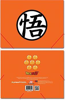 Dragon Ball Z Elastic Band File Folder - Goku's Symbol