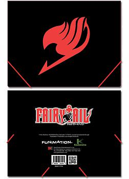 Fairy Tail Elastic Band File Folder - Emblem