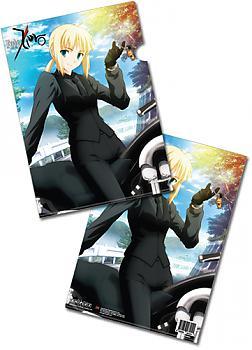 Fate/Zero File Folder - Saber (Pack of 5)