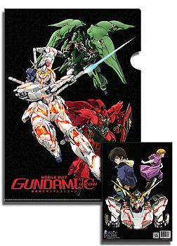 Gundam File Folder - Unicorn (Pack of 5)