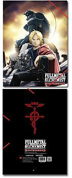 FullMetal Alchemist Brotherhood Elastic Band File Folder - Ed & Al