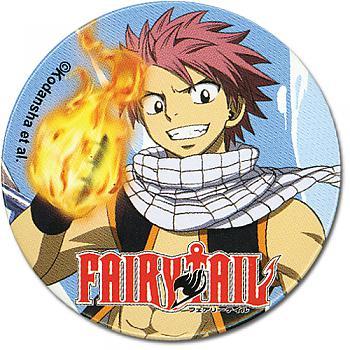 Fairy Tail 2'' Button - Natsu