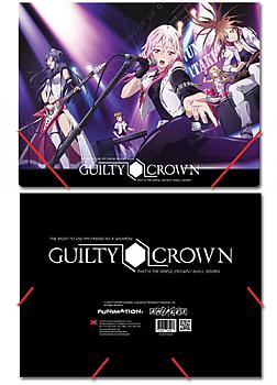 Guilty Crown Elastic Band File Folder - Group