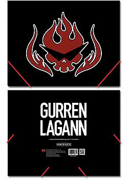 Gurren Lagann Elastic Band File Folder - Dai Gurren