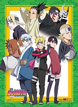 Boruto Wall Scroll - Junior Group