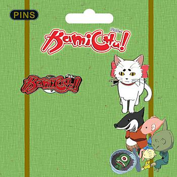 Kamichu! Pins - Tama and Logo (Set of 2)