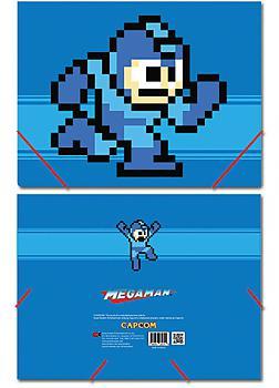 Mega Man Elastic Band File Folder - 8bit