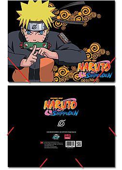 Naruto Shippuden Elastic Band File Folder - Naruto