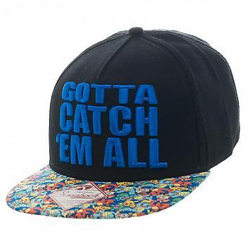Pokemon Cap - Gotta Catch 'em All Snapback
