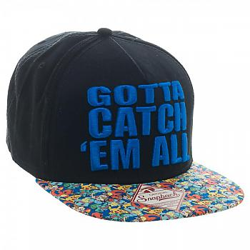Pokemon Cap - Gotta Catch 'em All Snapback