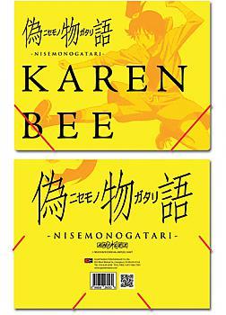 Nisemonogatari Elastic Band File Folder - Karen Bee