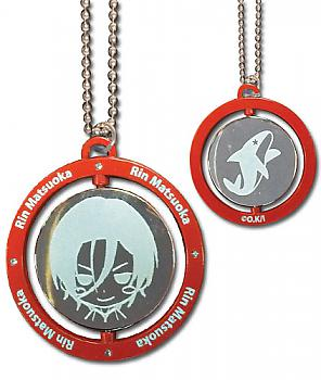 Free! Necklace - Rin Red Metal