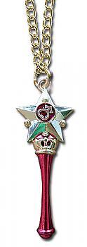 Sailor Moon S Necklace - Star Power Stick Mars