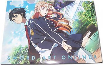 Sword Art Online II File Folder - Kirito & Asuna School Uniform