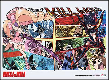 Kill la Kill Wall Scroll - Ryuko Vs. Nui [LONG]