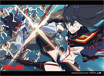 Kill la Kill Wall Scroll - Ryuko Vs. Satsuki [LONG]
