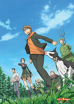 Silver Spoon Wall Scroll - Group 2
