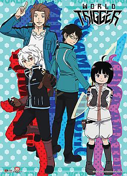 World Trigger Wall Scroll - Group 3
