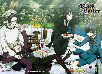 Black Butler 2 Premium Wall Scroll - Group 1 [LONG]