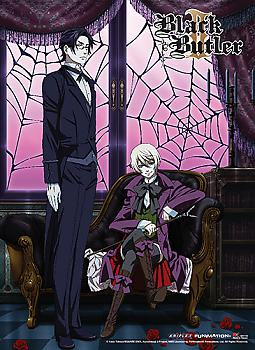 Black Butler 2 Premium Wall Scroll - Key Art