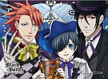 Black Butler High End Wall Scroll - Group 2 [LONG] (Book of Circus)