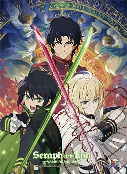Seraph of the End High End Wall Scroll - Key Art 1