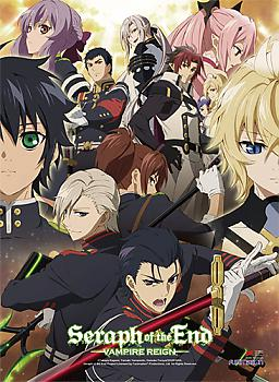 Seraph of the End High End Wall Scroll - Key Art 2
