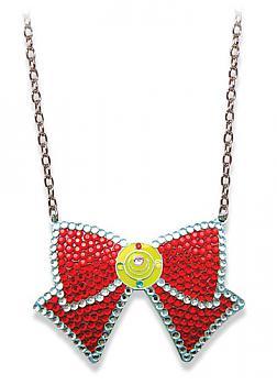 Sailor Moon Necklace - Ribbon Jeweled Sailor Moon