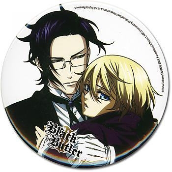 Black Butler 2 3'' Button - Claude Alois