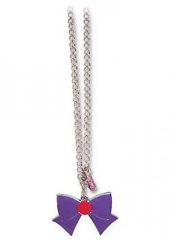 Sailor Moon Necklace - Ribbon Sailor Mars