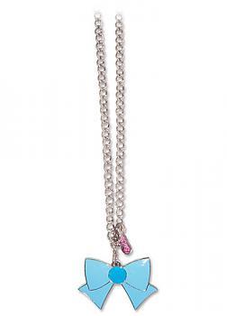 Sailor Moon Necklace - Ribbon Sailor Mercury