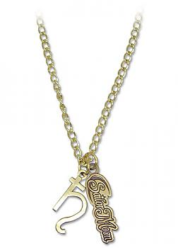 Sailor Moon Necklace - Saturn Symbol