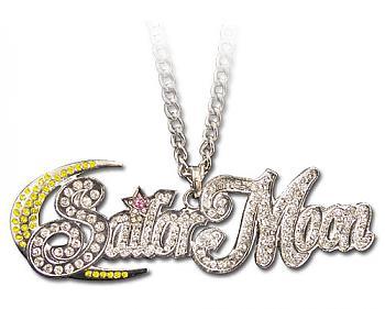 Sailor Moon Necklace - Studded Logo