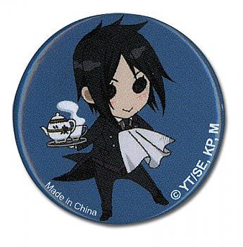 Black Butler 2 1.25'' Button - Sebastian