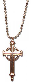 Trinity Blood Necklace - Celtic Style Cross