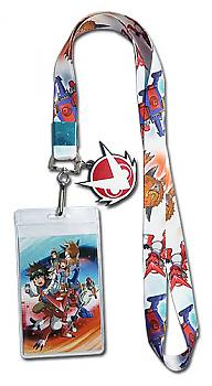 Digimon Lanyard - Fusion Fighters