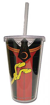 Assassination Classroom Tumbler Mug with Lid - Koro Sensei Clothes