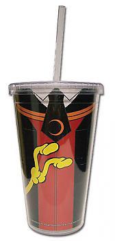 Assassination Classroom Tumbler Mug with Lid - Koro Sensei Clothes