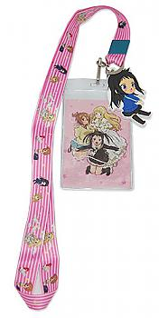 Soul Eater Not! Lanyard - Pink Background