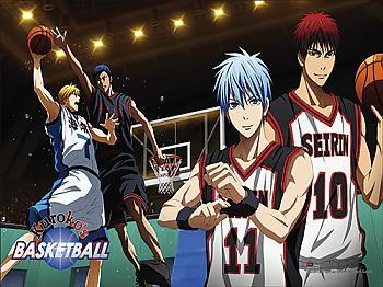 Kuroko's Basketball Paper Poster - Action Shot