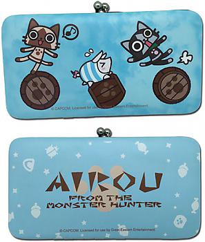 Airou From the Monster Hunter Hinge Wallet - Group