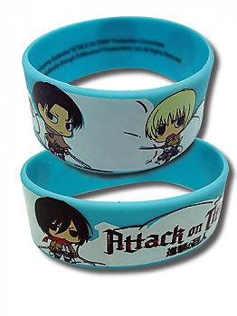 Attack on Titan Wristband - SD Characters