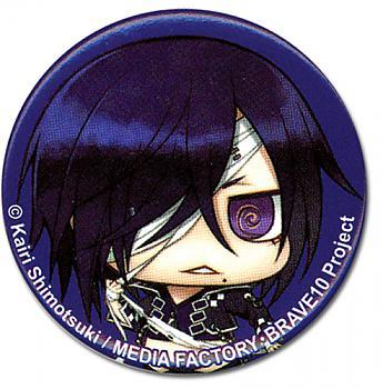 Brave10 1.25'' Button - Rokuro