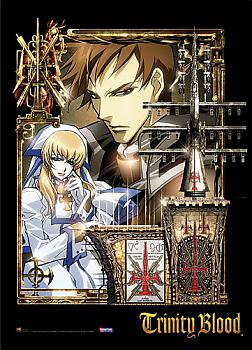 Trinity Blood Wall Scroll - Tres and Sister Cate